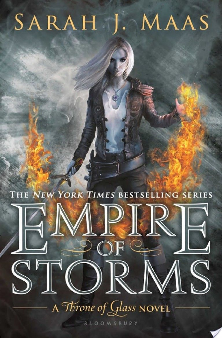 Empire Of Storms By Throne Of Glass Empire Of Storms Throne Of