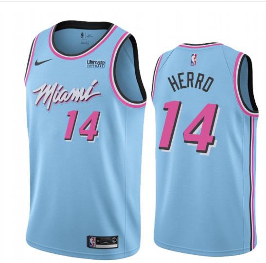 Youth Kids Miami Heat Tyler Herro 14 City Vice Night Jersey Miami Heat Jersey People Brand