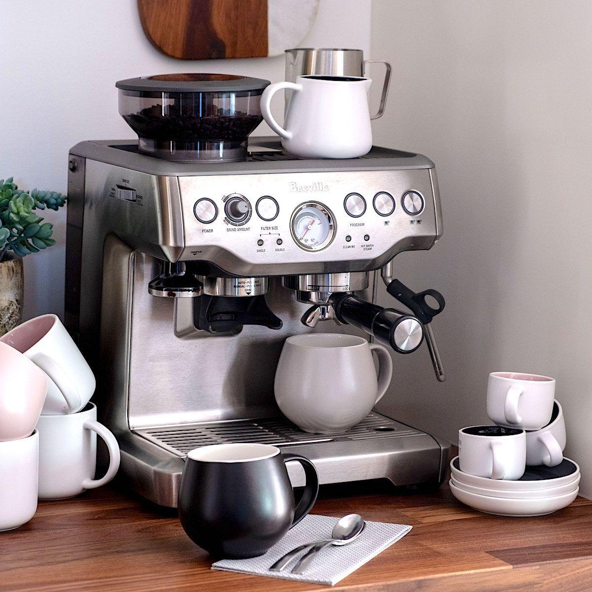 The Barista Express Espresso Machine By Breville In 2020 Espresso Machine Reviews Espresso Machine Espresso