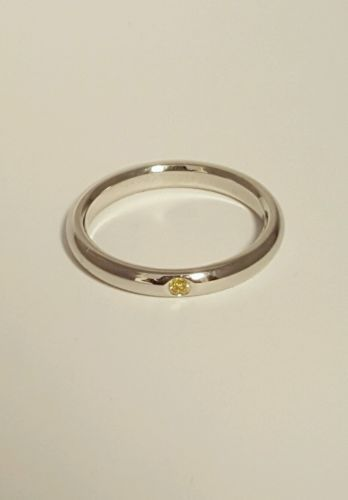 TIFFANY & CO. PERETTI 950 PLATINUM RING WITH CANARY YELLOW DIAMOND-NO RESERVE https://t.co/aQ7XSY3ldb https://t.co/C1rha7XOOp