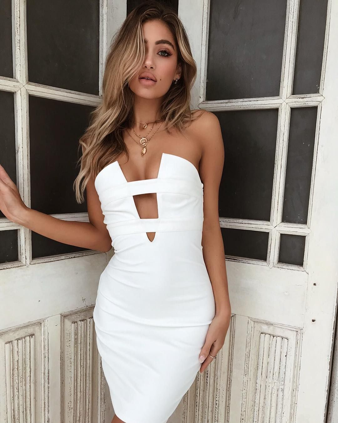 How Hot Is The Nadia Dress Strapless Party Dress Strapless Dress Bodycon Dress [ 1349 x 1080 Pixel ]