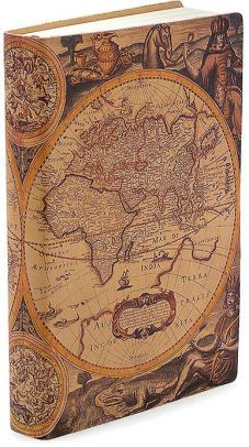 Antique map printed italian leather journal 6 x 8 antique maps everyone needs a good journal with an old fashioned world map on it gumiabroncs Image collections