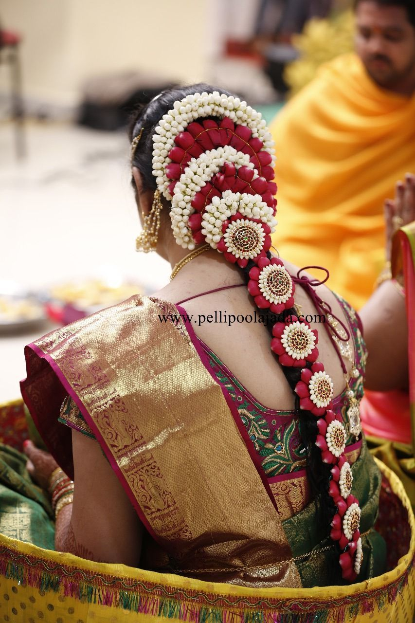 Pellipoolajada Branches All Over Ap Telangana Tamilnadu Karnataka Trivandrum Indian Bridal Hairstyles South Indian Bride Hairstyle Indian Bride Hairstyle