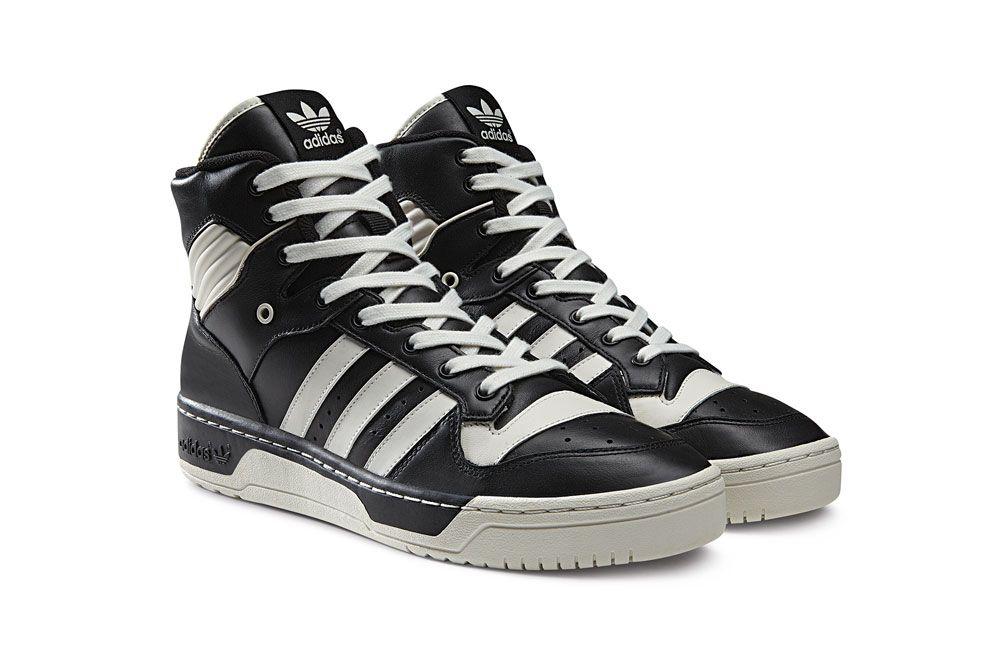 Adidas Rivalry Hi Black White Vapour-Chalk  61f4f0c88be6