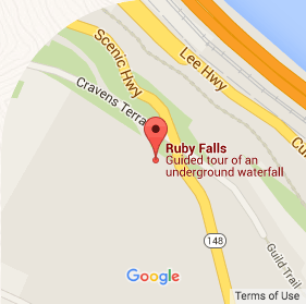 Ruby Falls Google Map Florida vacation Pinterest Vacation