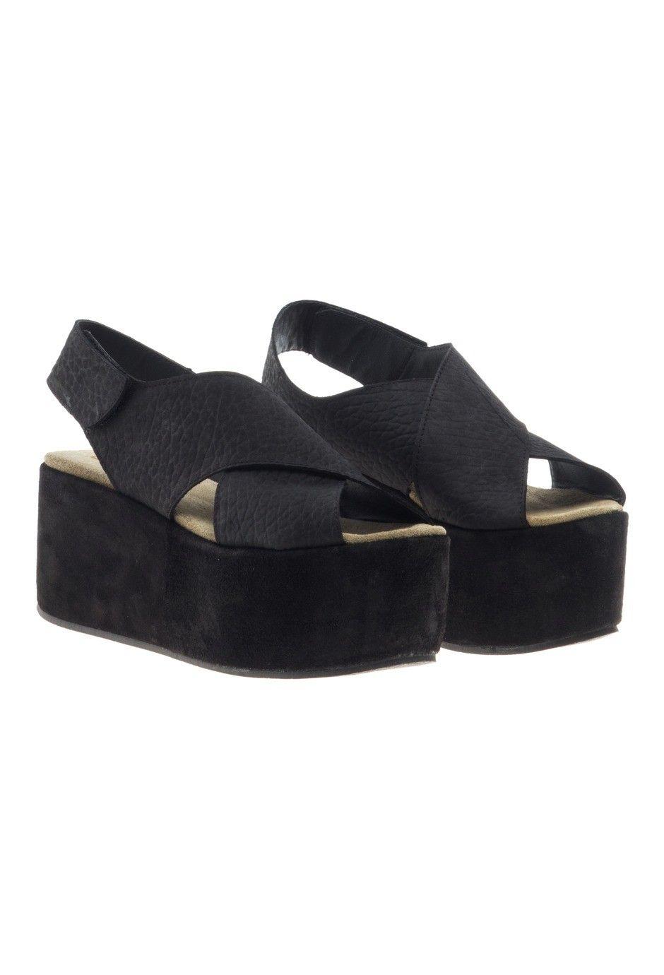Belt Marlene ShoesWedges NegroShoes Y Viamo Sandalias bI6fyvY7g