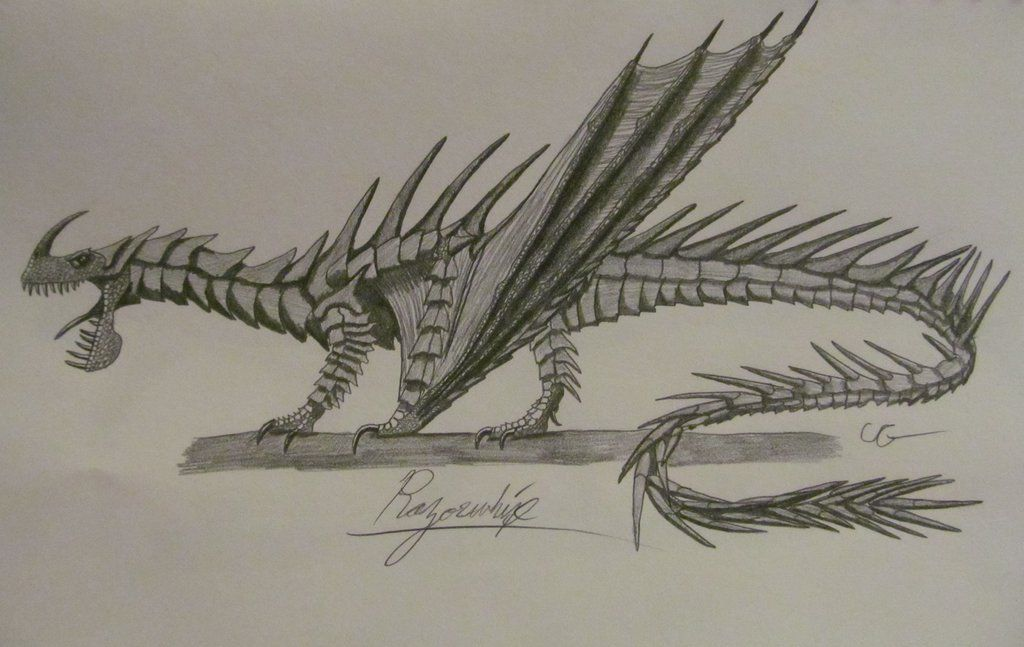 How To Train Your Dragon Razorwhip By Acrosaurotaurus On Deviantart How To Train Your Dragon How To Train Dragon Httyd Dragons