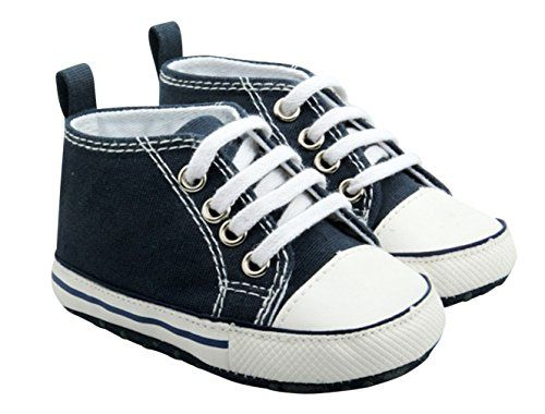 Quality Baby Boy Girl Infant Toddler Soft Sole Sneaker Crib Shoe Dark Blue 6 *** You can get more details by clicking on the image.Note:It is affiliate link to Amazon.