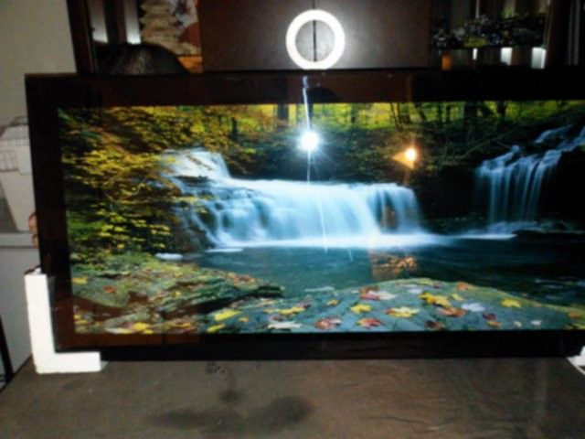 Ebluejay Waterfall Moving Pictures Light Sound Large Picture
