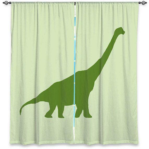 Curtains Ideas boys dinosaur curtains : NEXT DINOSAUR PENCIL PLEAT BLACKOUT LINED BOYS BLUE CURTAINS ...