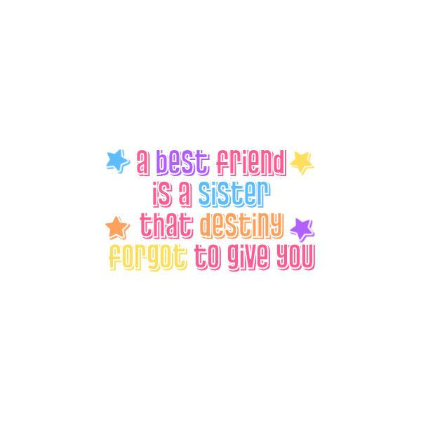 Friendship Quotes, Friendship Quote Graphics, Friendship Sayings found on Polyvore