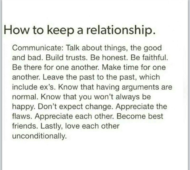 How To Hold back A Good Relationship