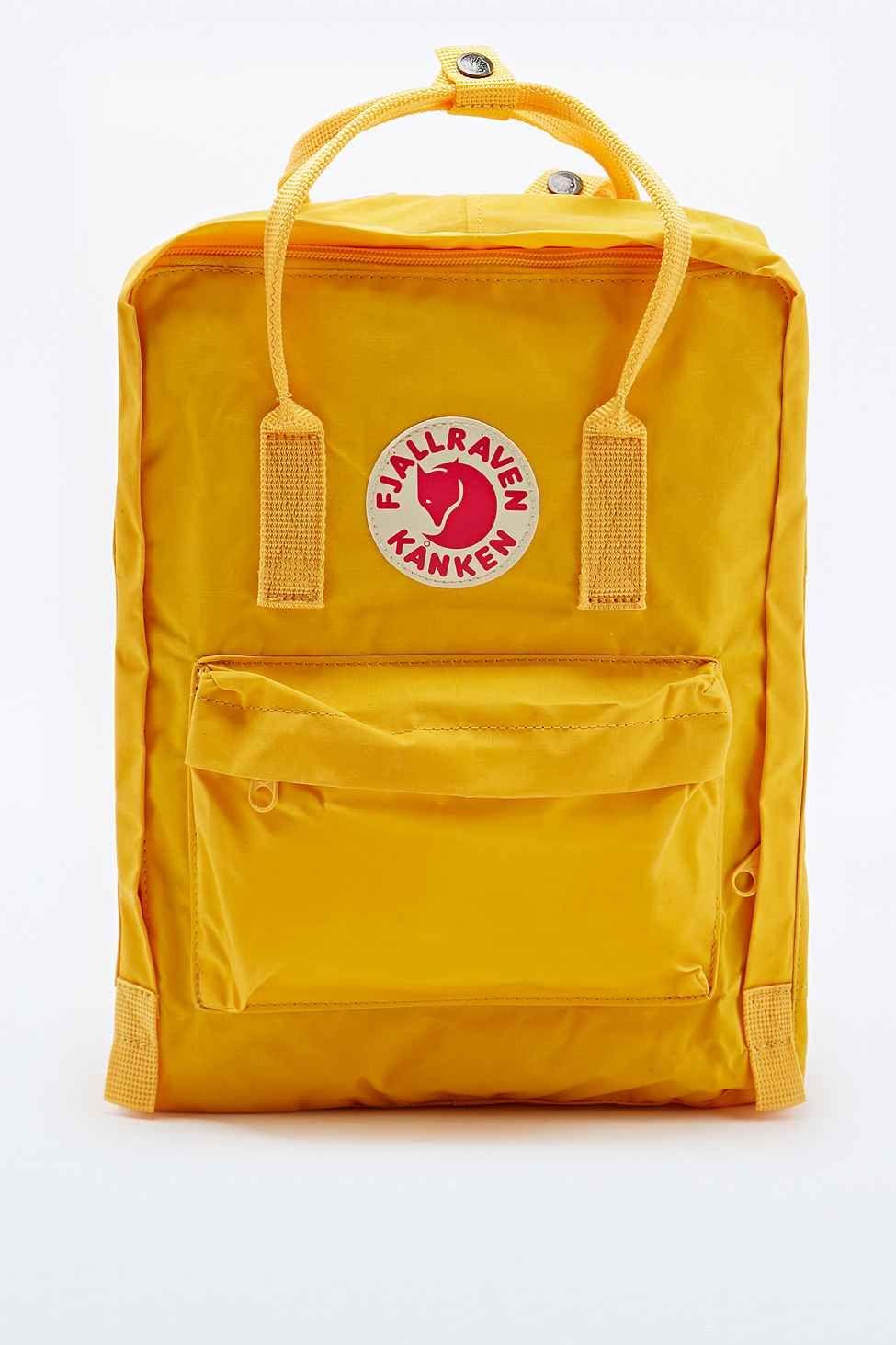 Fjällräven Kanken Rucksack für Schule Sport  Freizeit Trend Taschen Backpack 16L