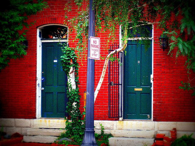 Soulard Doors With Images Best Cities National Register Of Historic Places St Louis