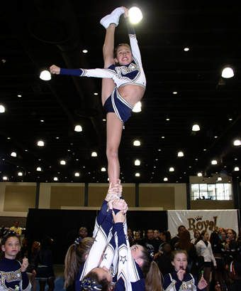 <3 cheerleading never gets old! Thank uou mom and dad for all the money you spent on competitions, uniforms, shoes , hair extentions and expecially your Love<3