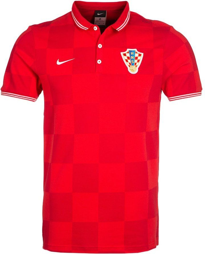 Nike Performance LEAGUE CROATIA Polo shirt red on shopstyle