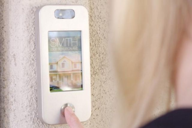 Smartbell is the high-tech doorbell that lets you video chat with your visitors