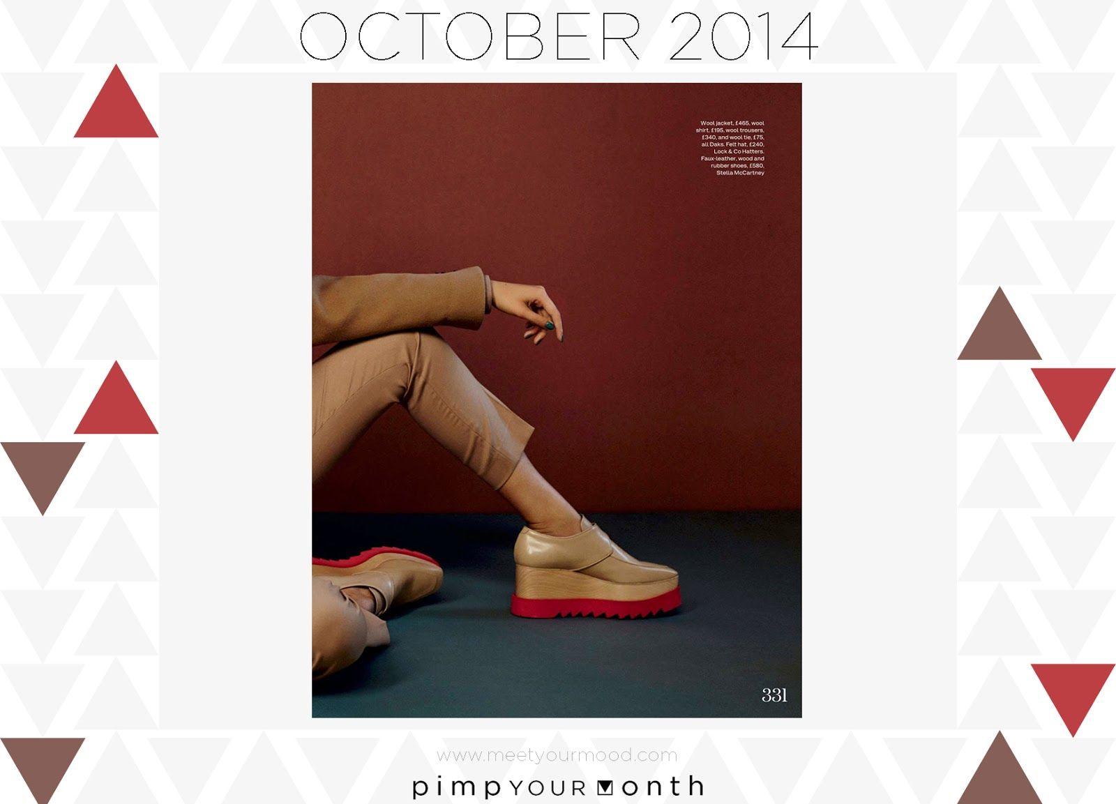 Pimp your OCTOBER in Cognac Brown and Aurora Red  ...avvolti da un aroma sopraffino!