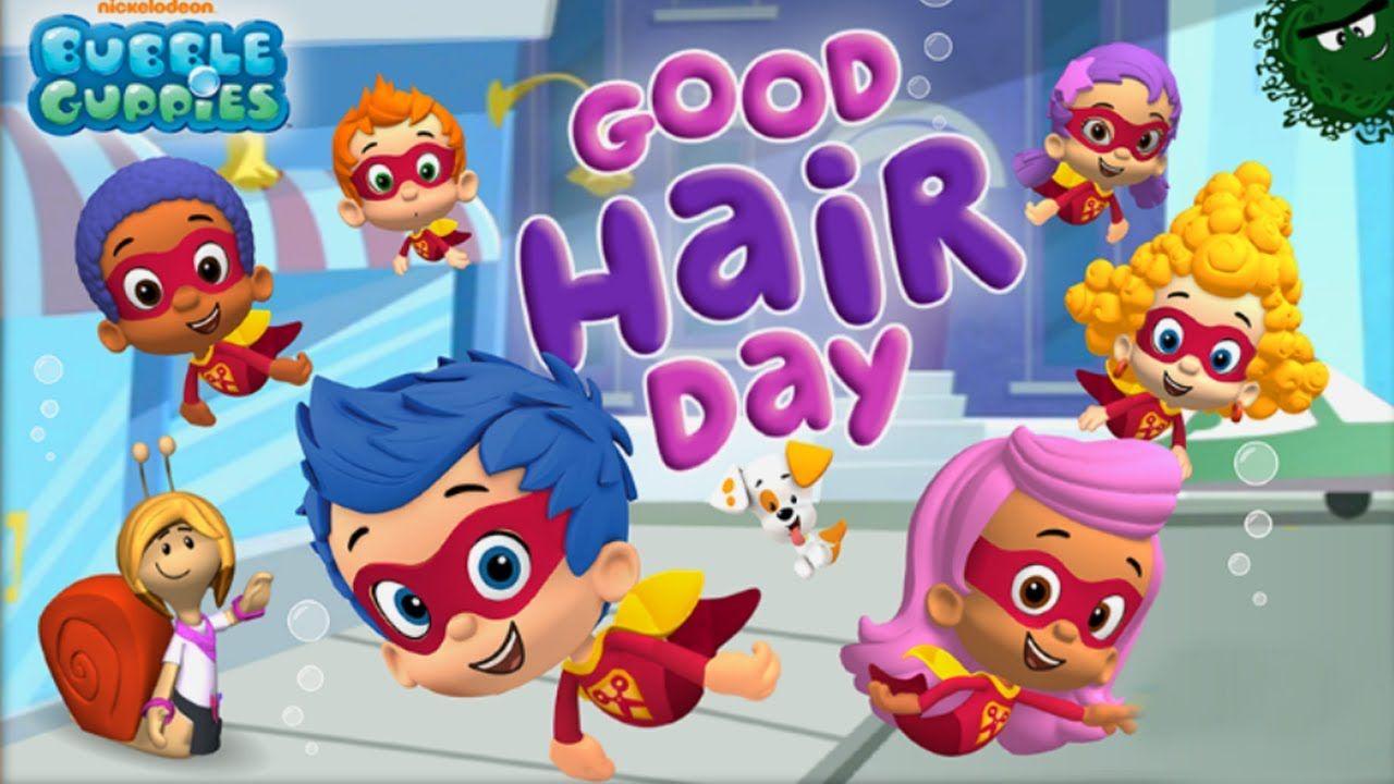 good hair day superheroes bubble guppies nick jr super