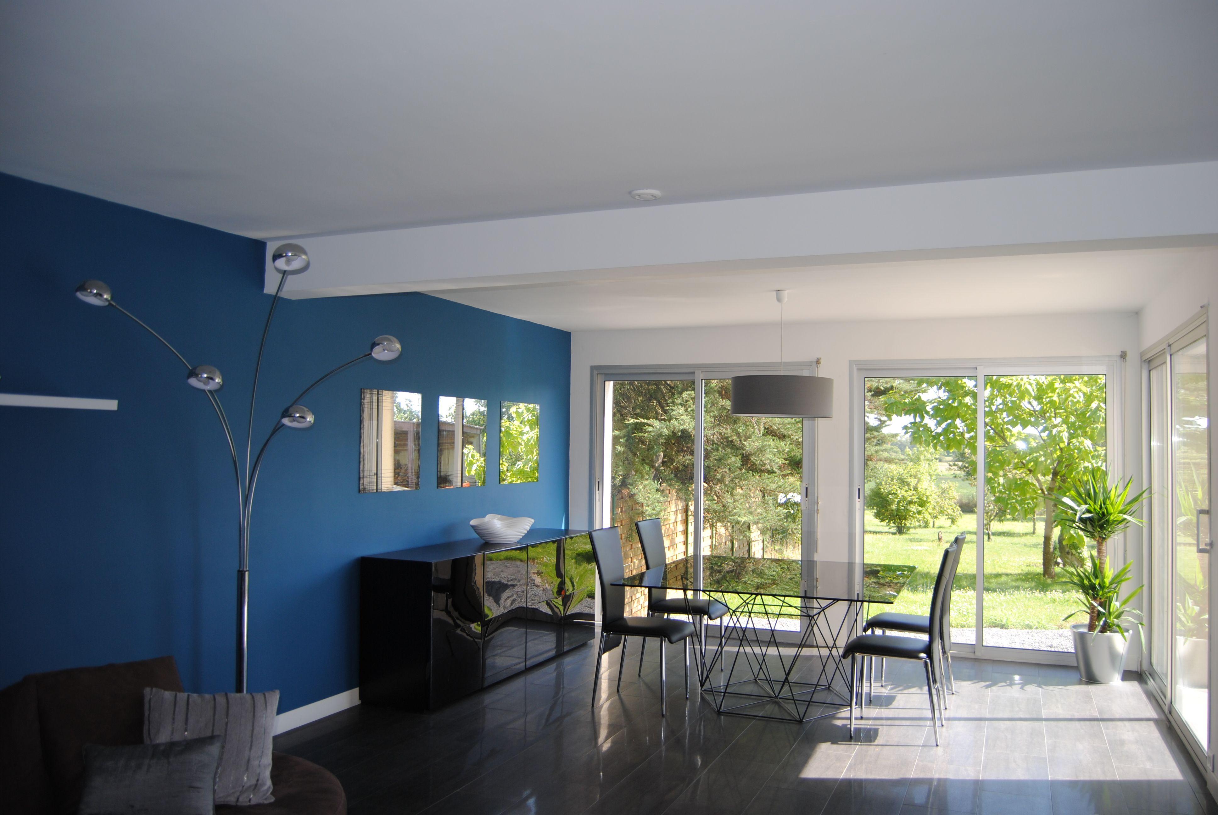 Mobile partie salle manger 3872 2592 pi ce - Salle couleur peinture noisette et blanc ...