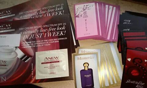 Image result for avon samples