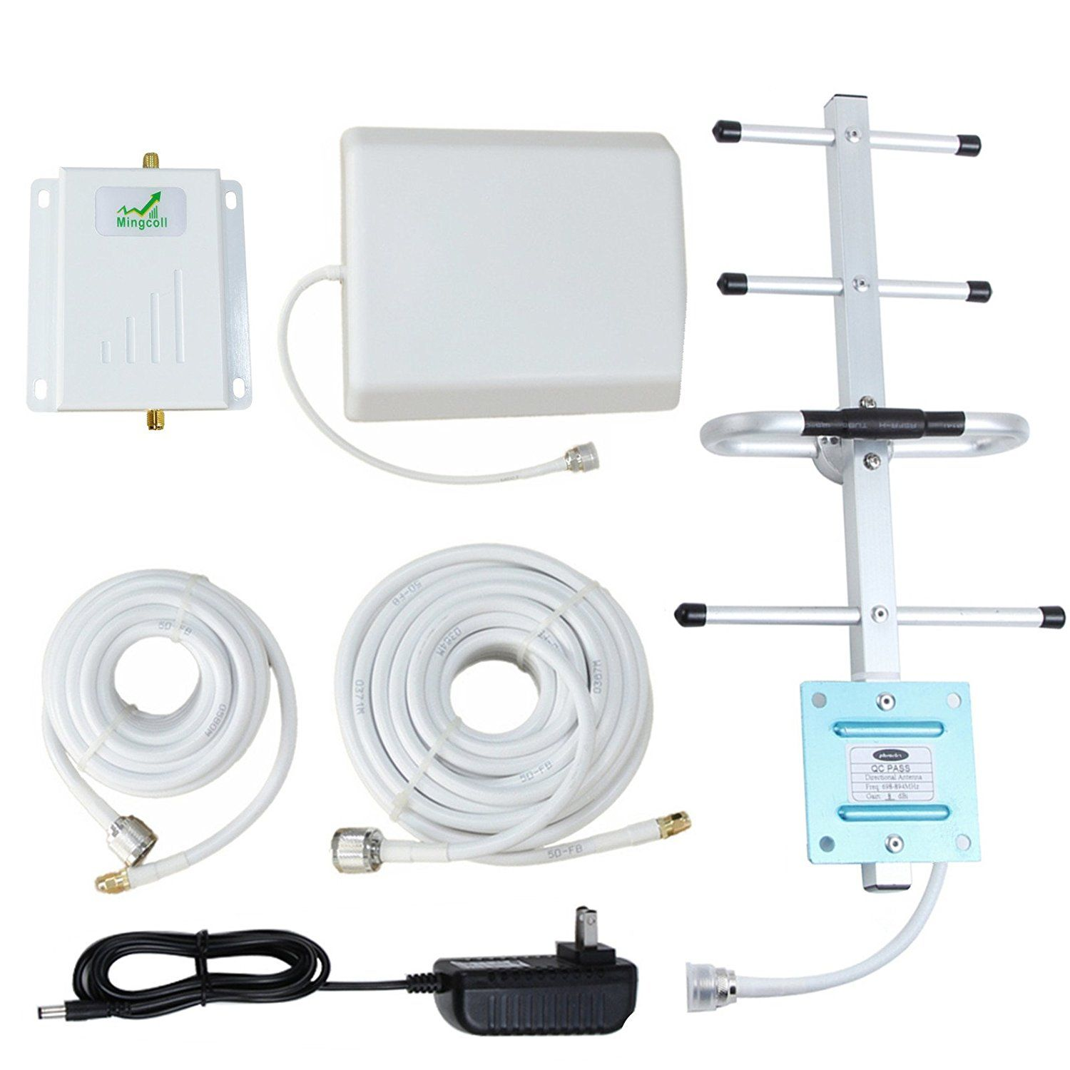 dd8f761fe6d477 Amazon.com: Verizon Cell Signal Booster 4G Lte 700MHz Band 13 Cell Phone  Signal Repeater Amplifier with Outdoor Directional Yagi Antenna Kit for  Home and ...