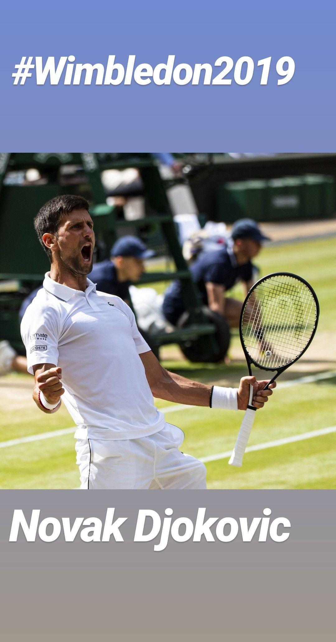 Novak Djokovic Save Two Match Points And Wins His Fifth Wimbledon Title With A 7 6 7 5 1 6 7 6 7 4 4 6 12 12 7 3 Victory Novak Djokovic Match Point Tennis