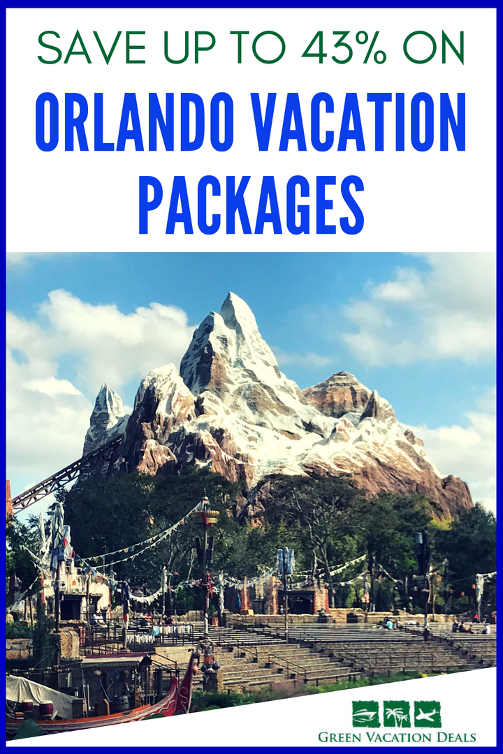 Save Up To 43 On Orlando Vacation Packages Highlights From Green