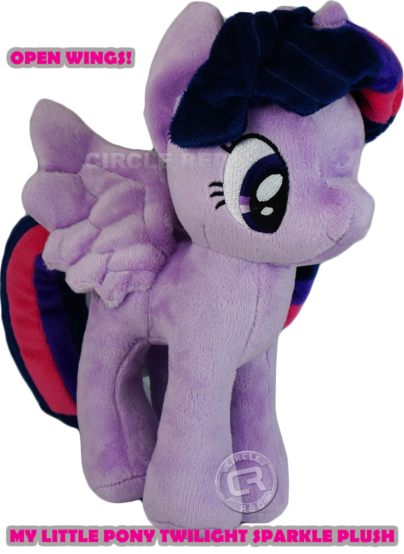 My Little Pony Princess Twilight Sparkle Open Wings 11/'/' Plush 4th Dimension