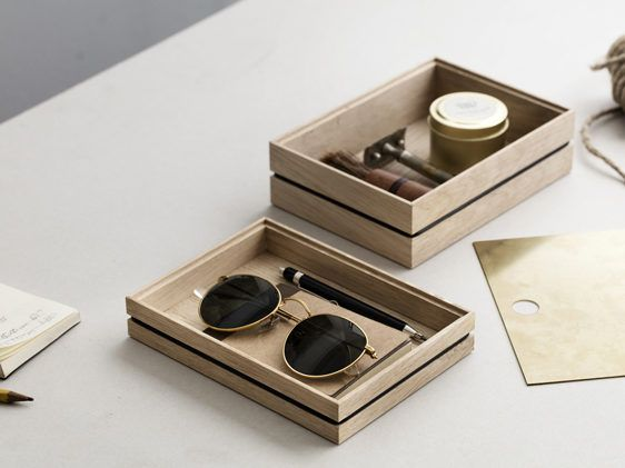 Perfect on any desk, table, vanity shelf and kitchen, these boxes are made from solid untreated oak and held together only by a rubber band. Misc-store carries all sizes and heights, we love both the functional use of storage, but above all swoon with all the display possibilites, as well as in store as on our desk and homes. When …