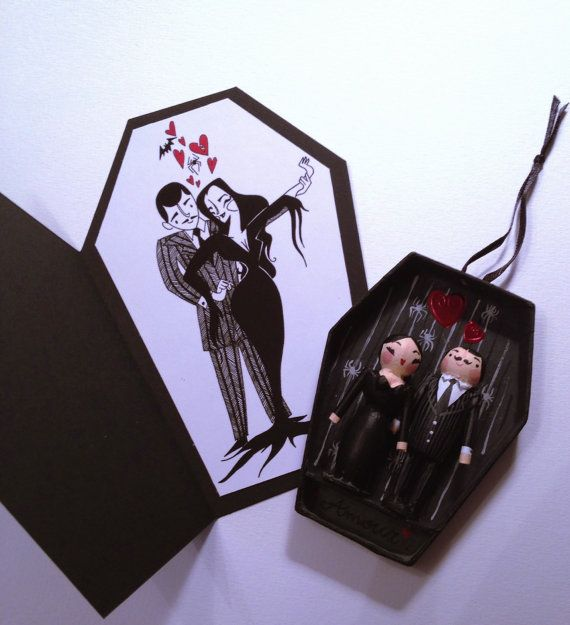 The Addams Family  Morticia and Gomez Addams by LeaseAPenny