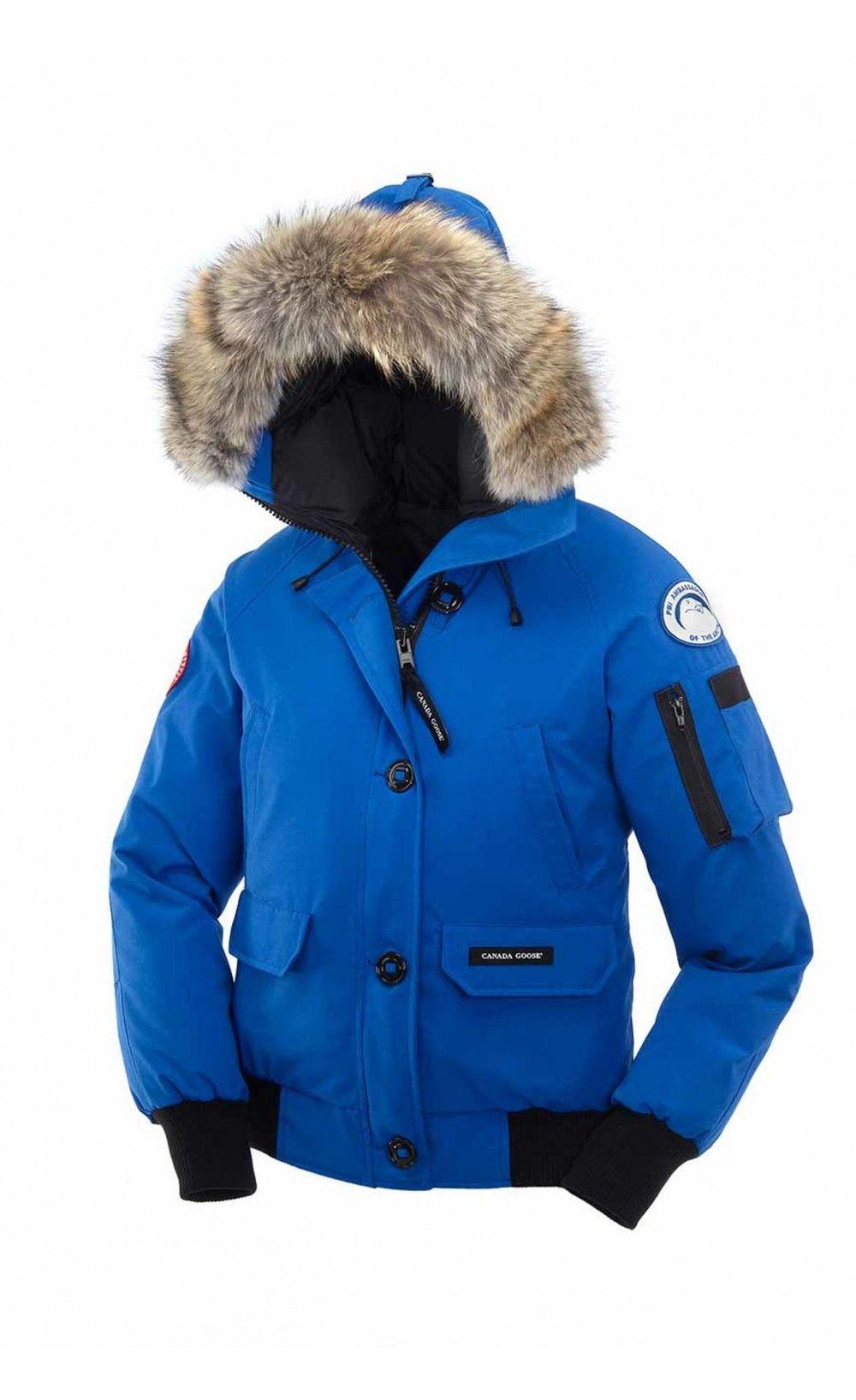Canada Goose Banff Anorak azul