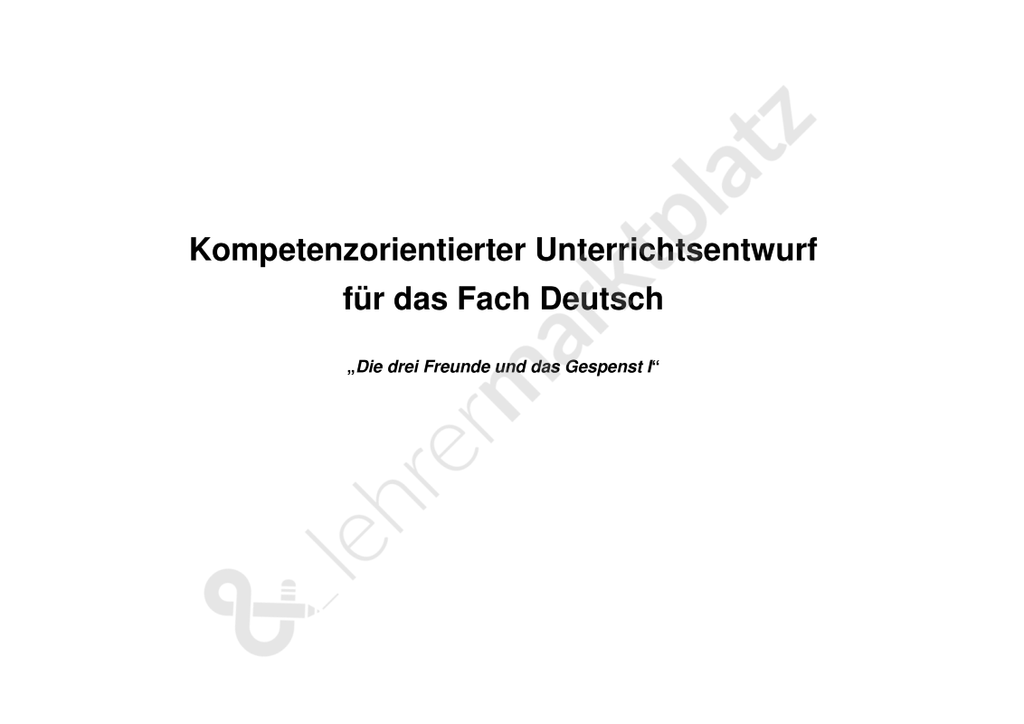 Unterrichtsentwurf Adjektive Klasse 2 | Deutsch | Pinterest ...
