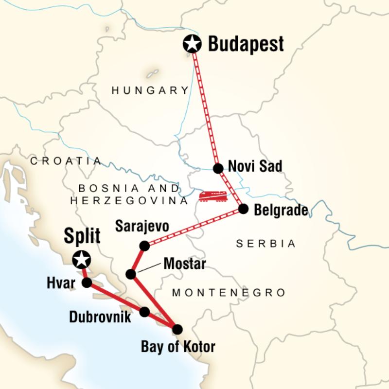 Croatia And The Balkans Croatia Serbia Balkans Travel