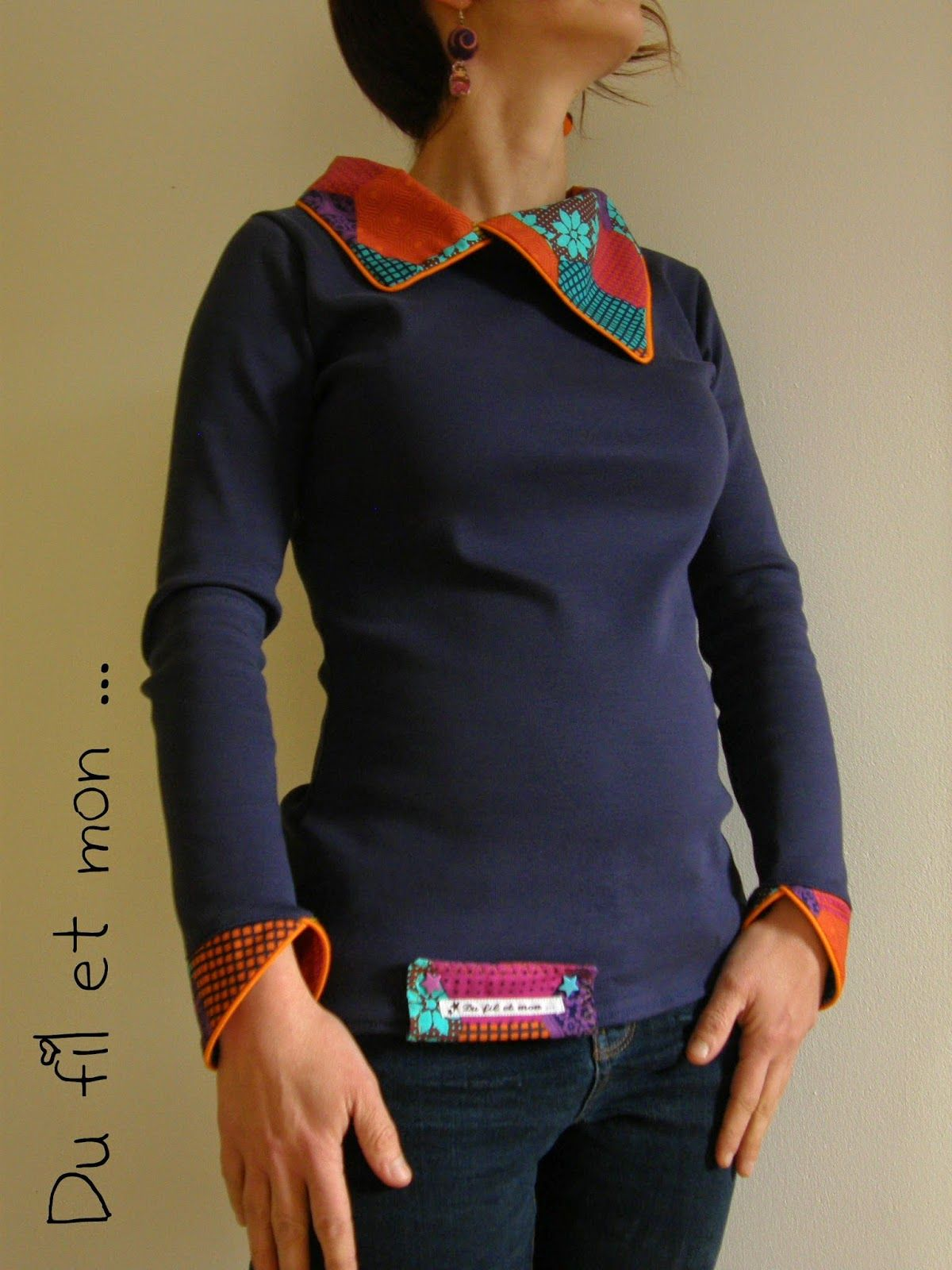f1e42019c6506 Petit Haut Miam Miam | vaateideoita | Couture sewing, Sewing clothes ...