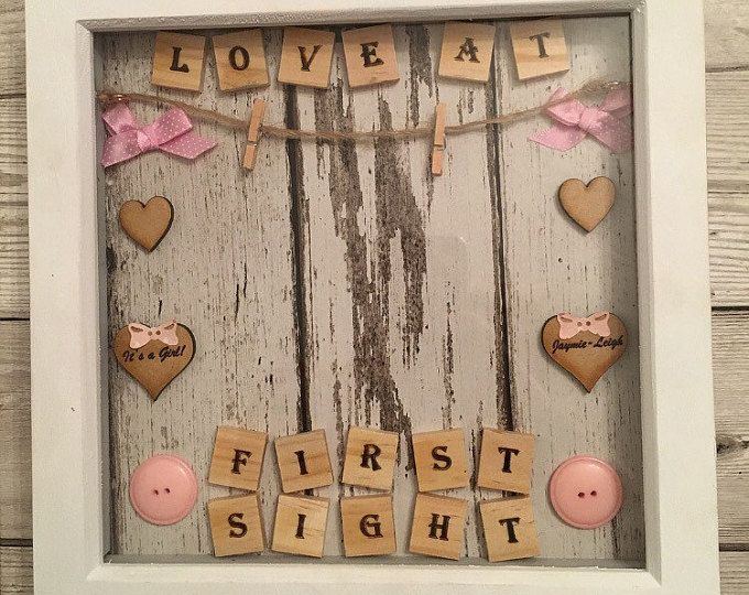 Baby scan photo frame | Project to try | Pinterest | Scrabble ...