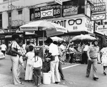 The Northwest Corner Of Delancey And Orchard Street Facing East 1975 79