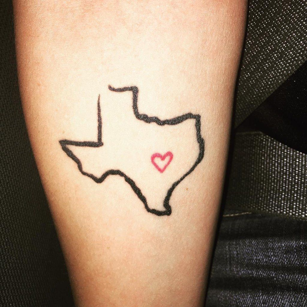 28 Beautiful Texas Tattoos You Definitely Won't Regret