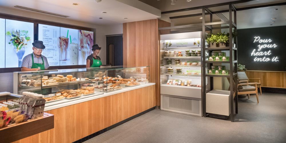 Starbucks Mercato Concept — myates #retaildesign #cafe