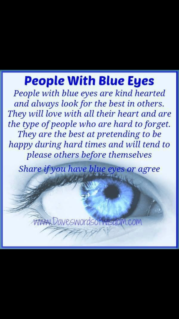Blue Eyed Girl Blue Eye Facts Blue Eye Quotes People With Blue Eyes
