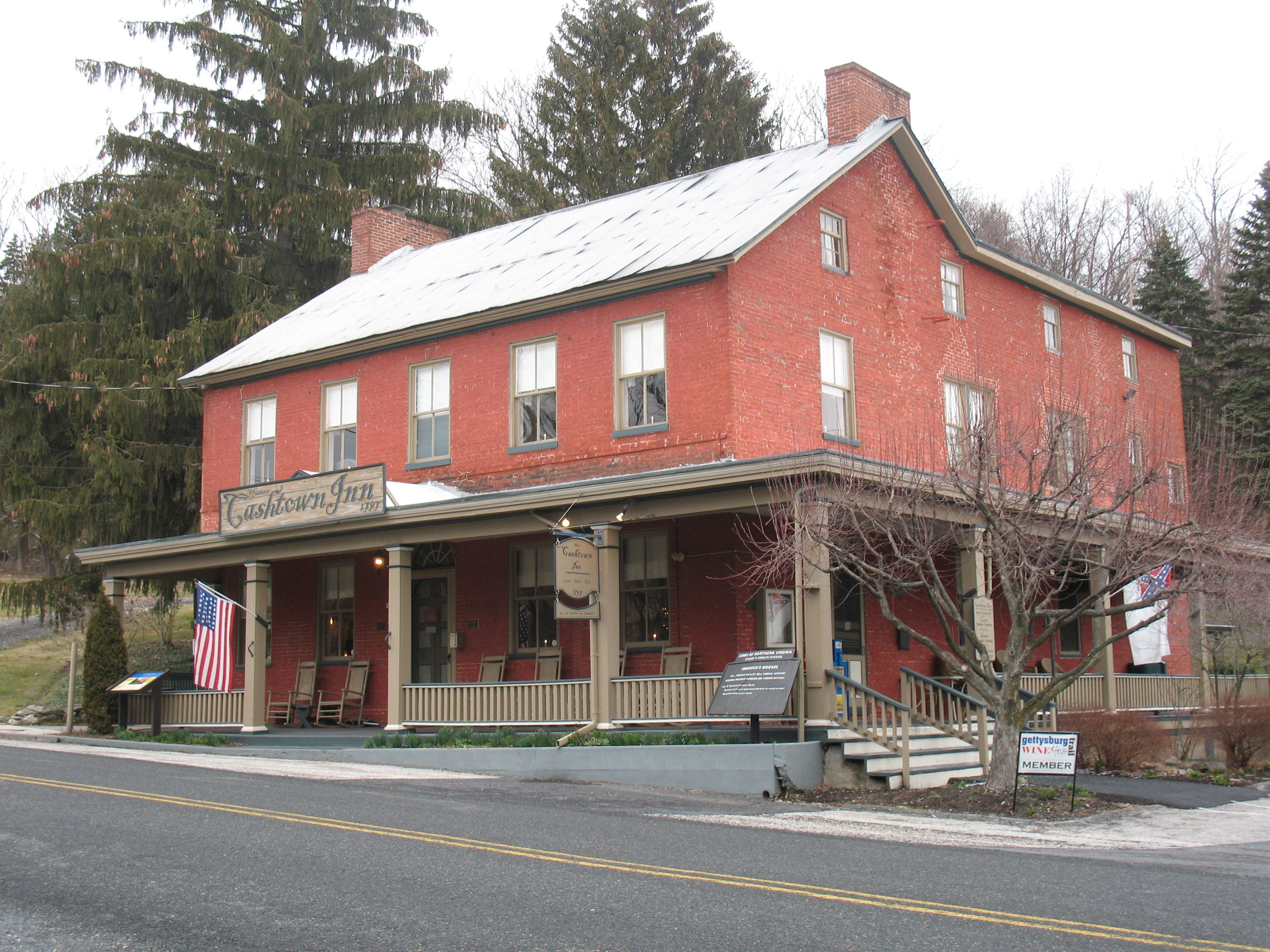 Famous Haunted Cashtown Inn In Gettysburg Pa