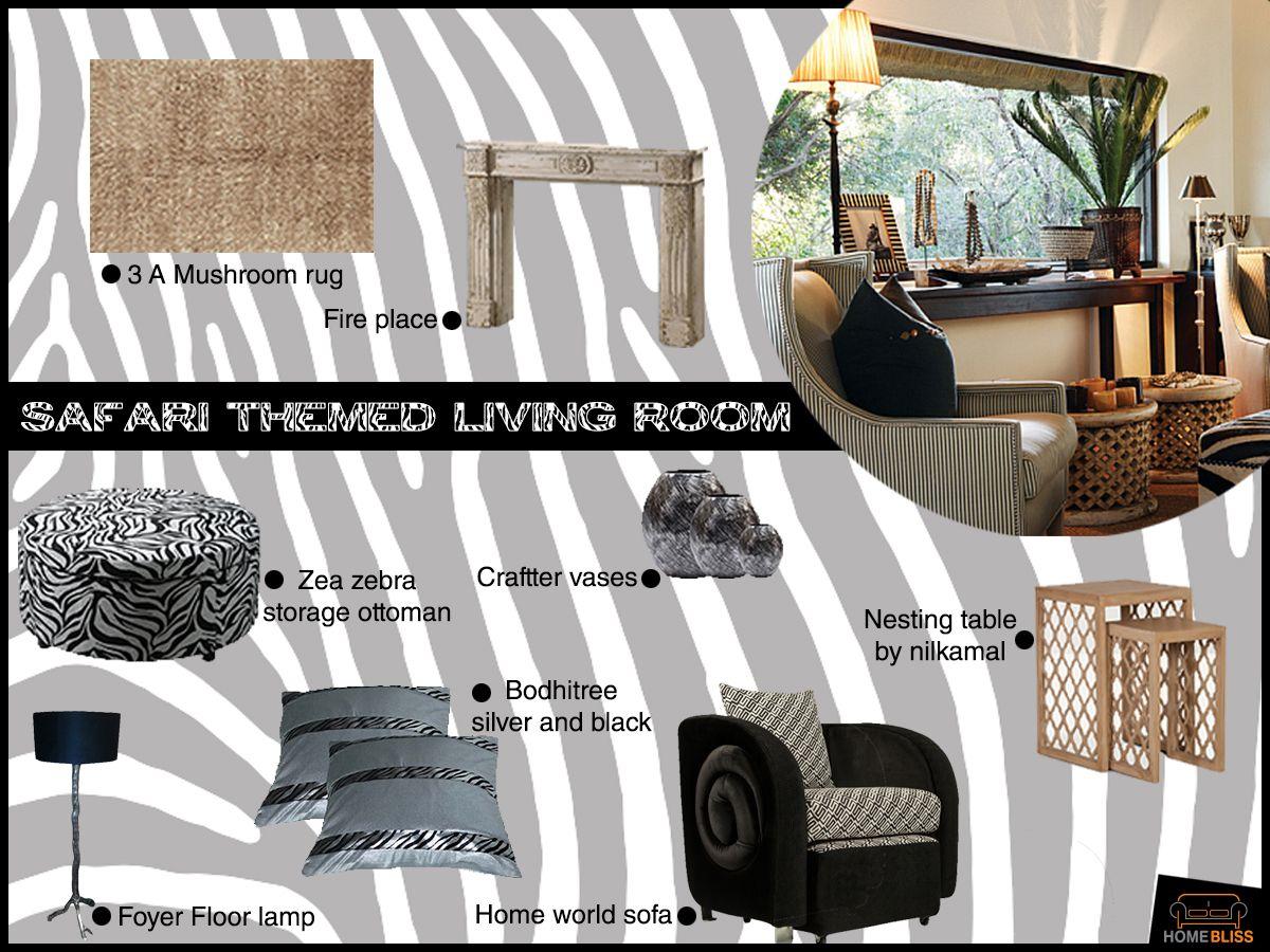Safari Decor For Living Room Homebliss Collections Safari Themed Living Room Follow Us On