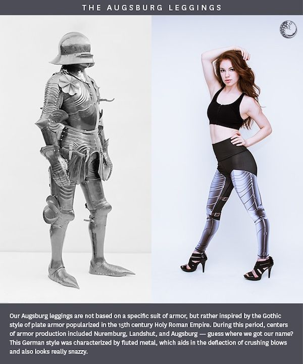 These Medieval Armor Leggings Are Historically Accurate