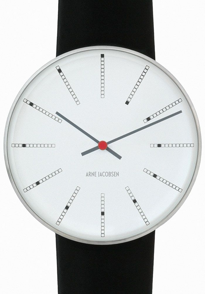 Arne Jacobsen La Montre Bankers Ure Watches Elegant Watches Og