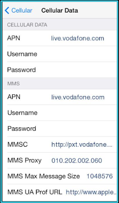 New Vodafone apn settings iPhone | Apn Settings in 2019