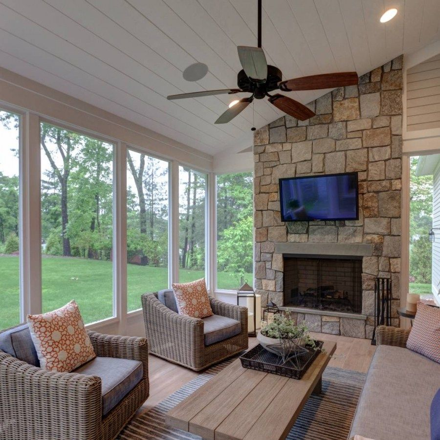 home interiors porch fireplace screened in patio on awesome deck patio outdoor lighting ideas that lighten up your space id=30503