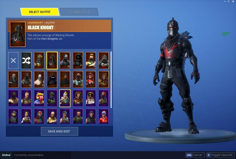 Fortnite Account Season 2 Stacked Black Knight 35 Skins Full Access