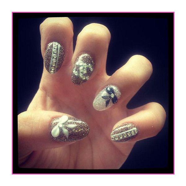 Whose Nail Design Do You Like Best Zendaya Coleman Or Stella Hudgens? ❤ liked on Polyvore featuring beauty products, nail care, nail treatments, nails, nail polish, makeup, nail art, unhas and coleman