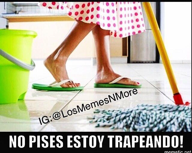 Latin Moms Be Like Latin Flava Vinyl Floor Cleaners