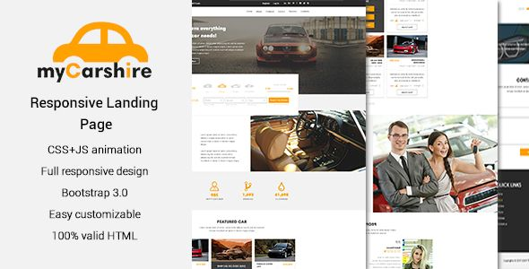 Awesome mycarshire auto driving amp automobile a single web page buy mycarshire car driving automobile one page template by exsythemes on themeforest the template is ideal for car sales car repair auto parts sales maxwellsz